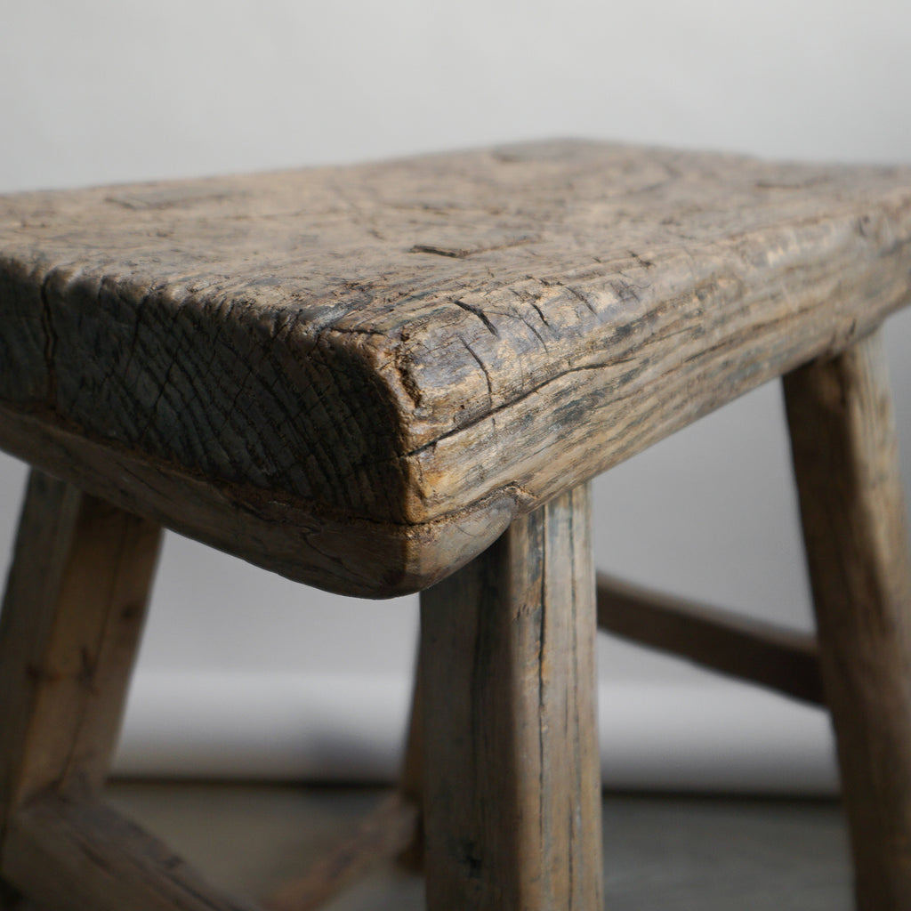 Chinese Elm Stool - 104