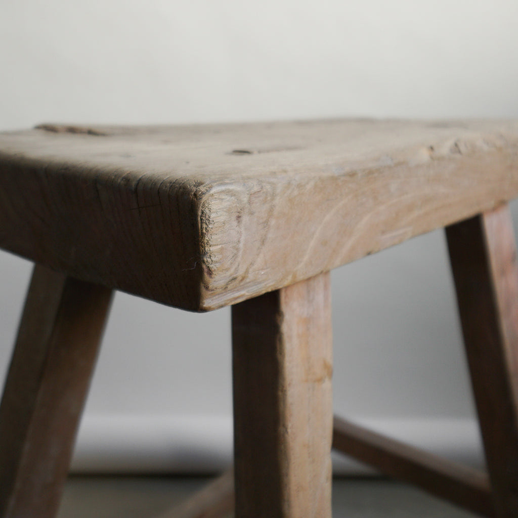 Chinese Elm Stool - 105