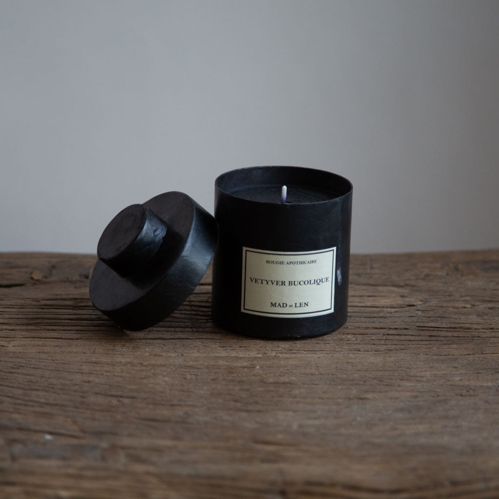 Mad et Len Small Apothicaire Candle - Vetyver Bucolique