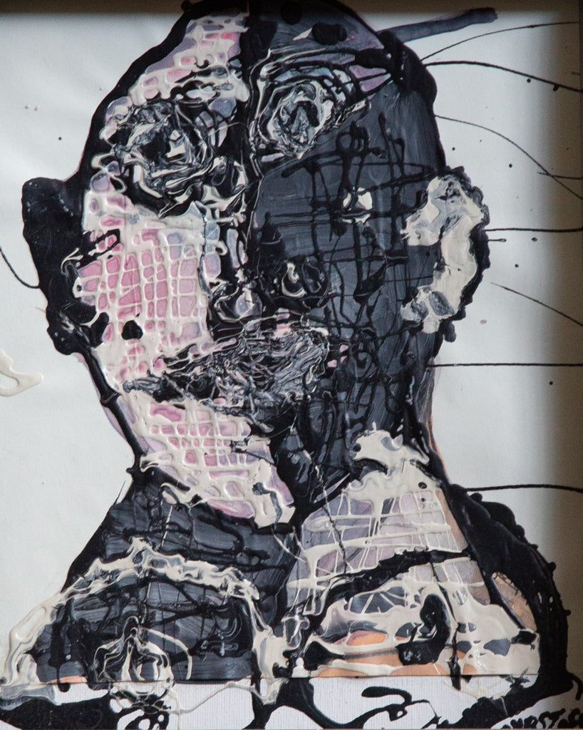 "Cyrstofer Shoemaker ""Dark Abstract Portrait"""