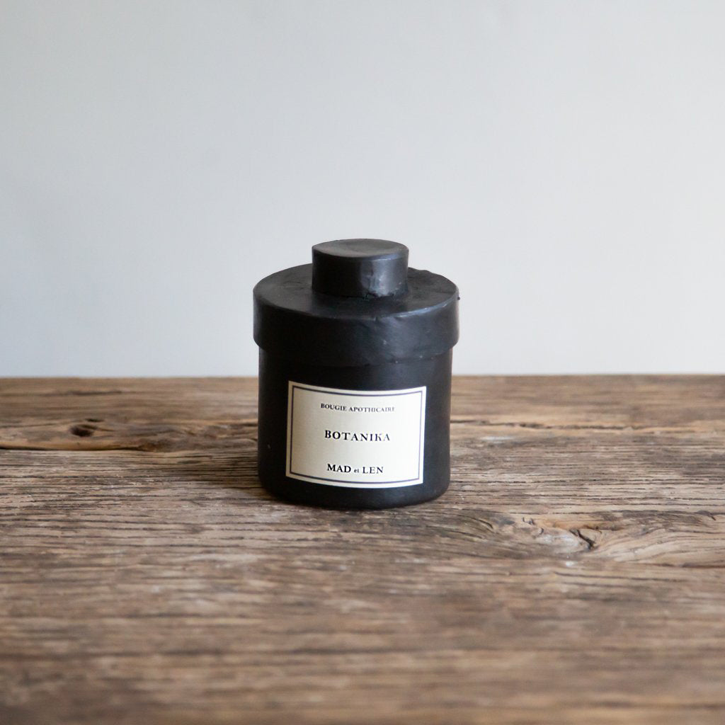 Mad et Len Small Apothicaire Candle - Botanika
