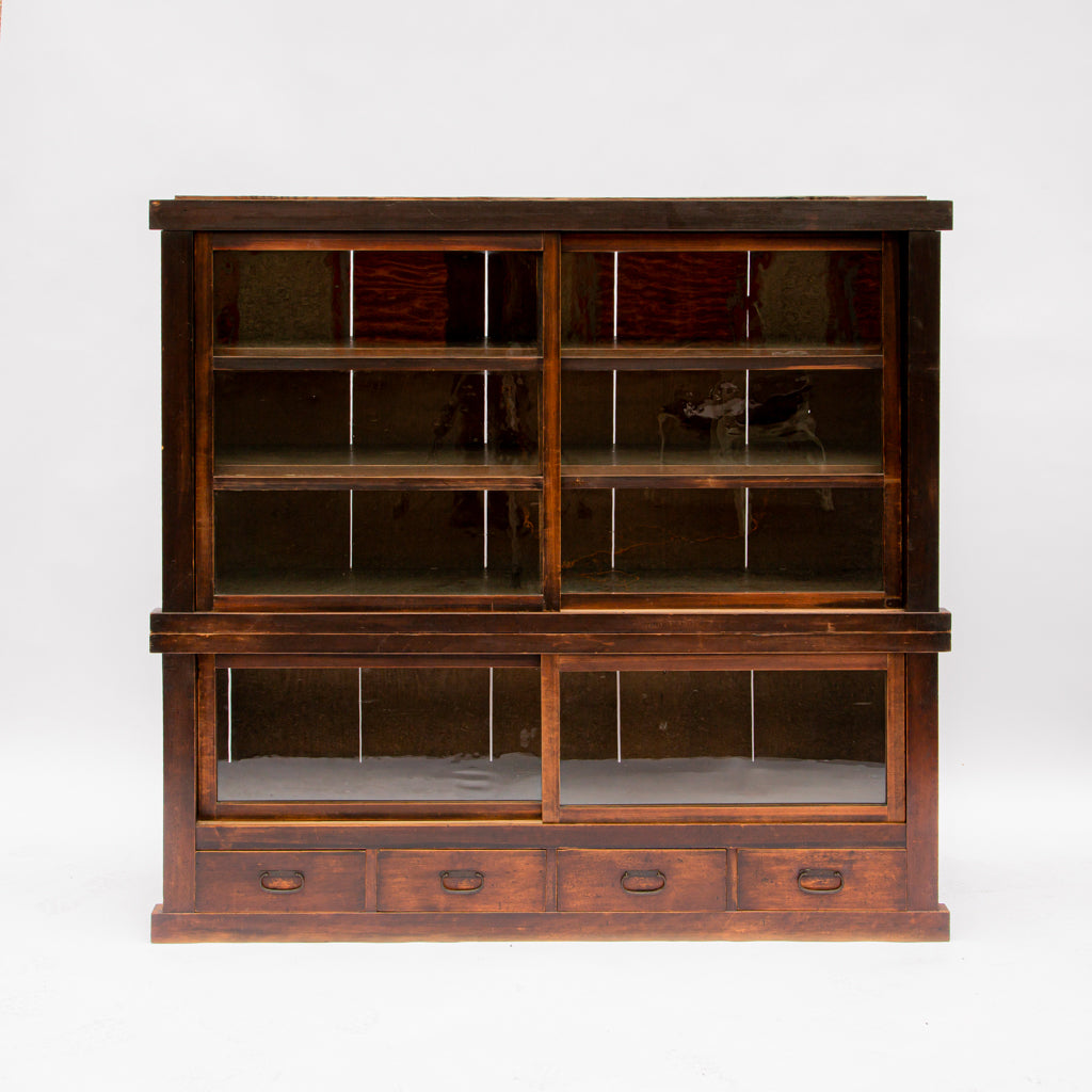 Japanese Hinoki Hutch - c. 19th Century