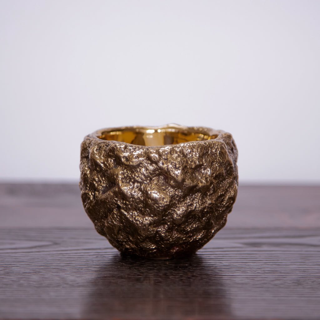 Made by Branch, Moss Bowl, Polished Bronze