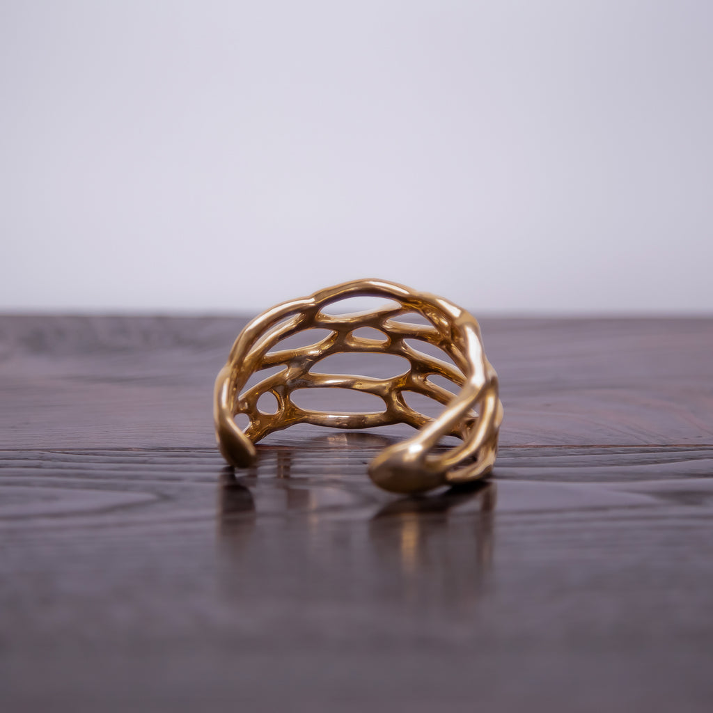 Made by Branch, Small Bronze Wing Cuff