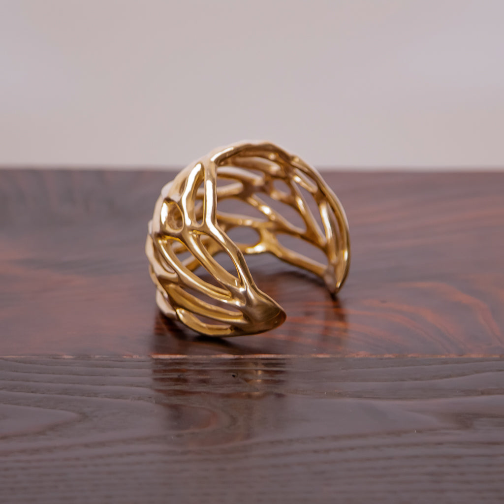 Made by Branch, Large Bronze Wing Cuff