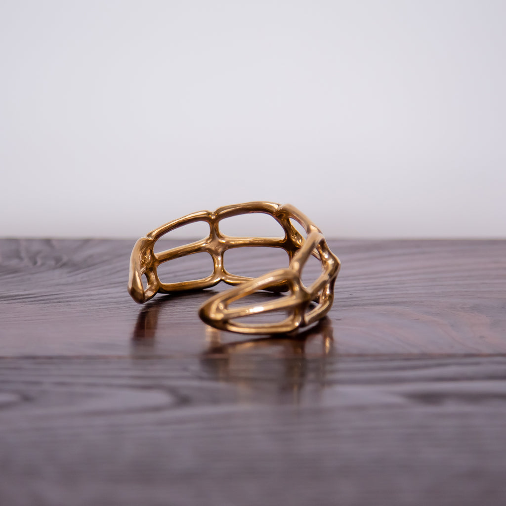 Made by Branch, Bronze Ribs Cuff