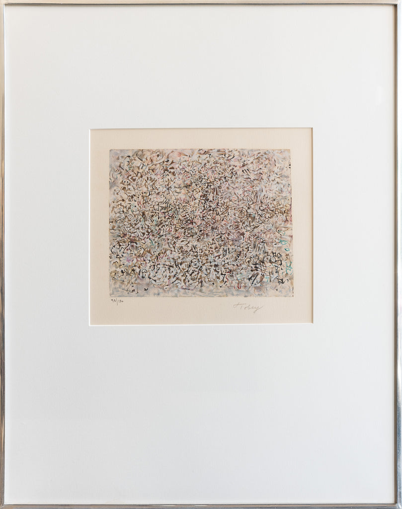 "Mark Tobey ""Crowded City"" - 1974"