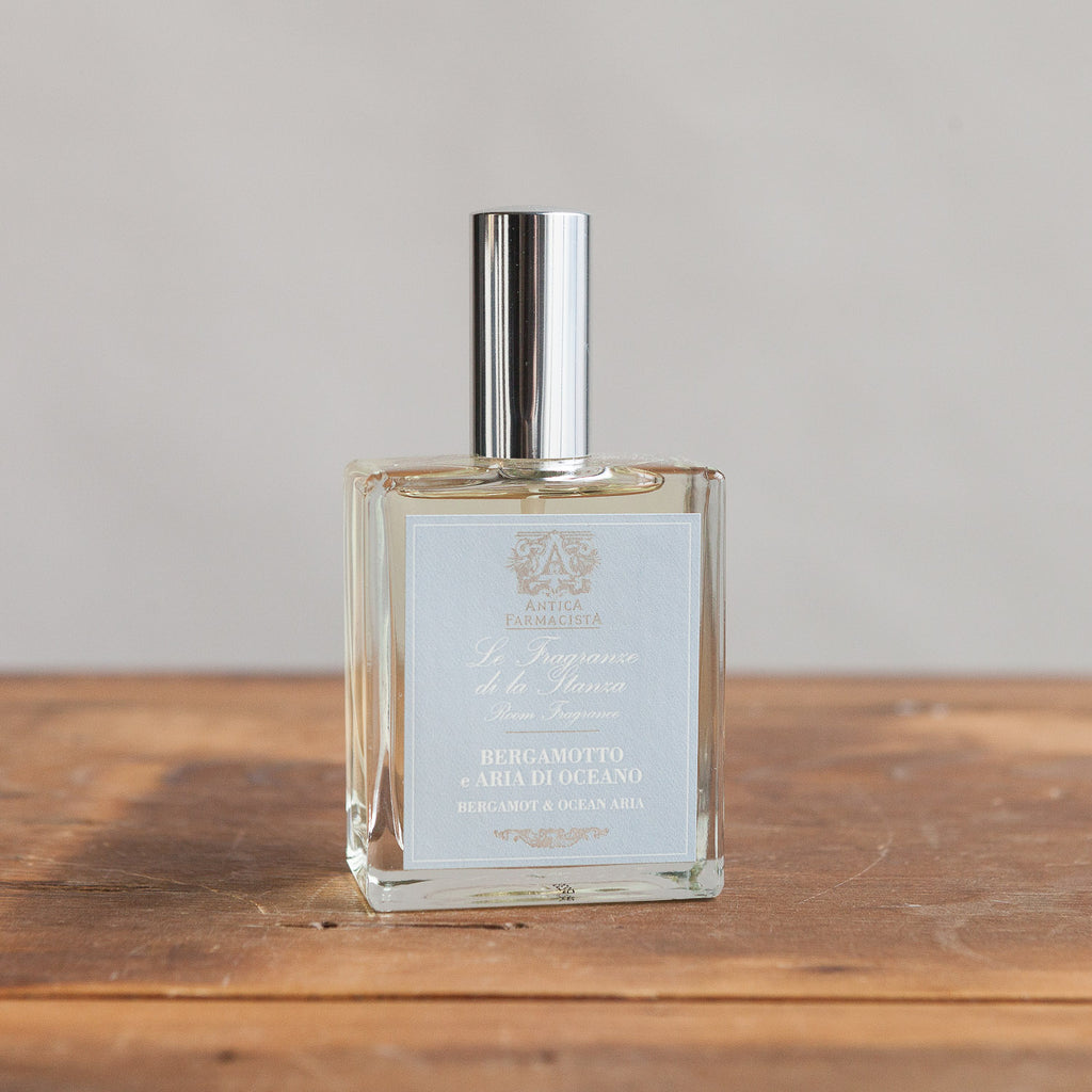 Antica Room Spray (100 ml) - Bergamot and Ocean Aria