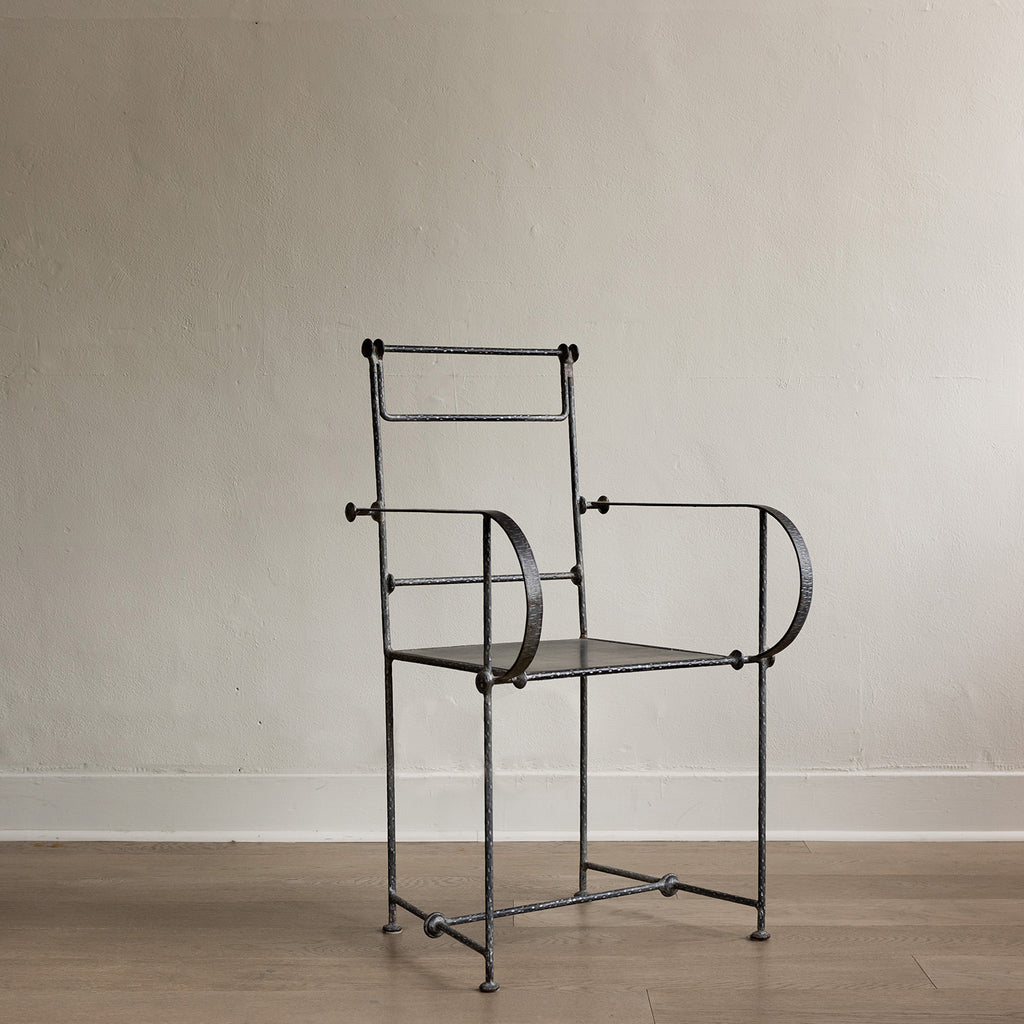 Italian Metal Chair - c. 1960