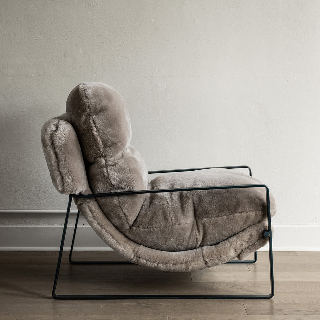 McQueen Accent Chair - Shearling
