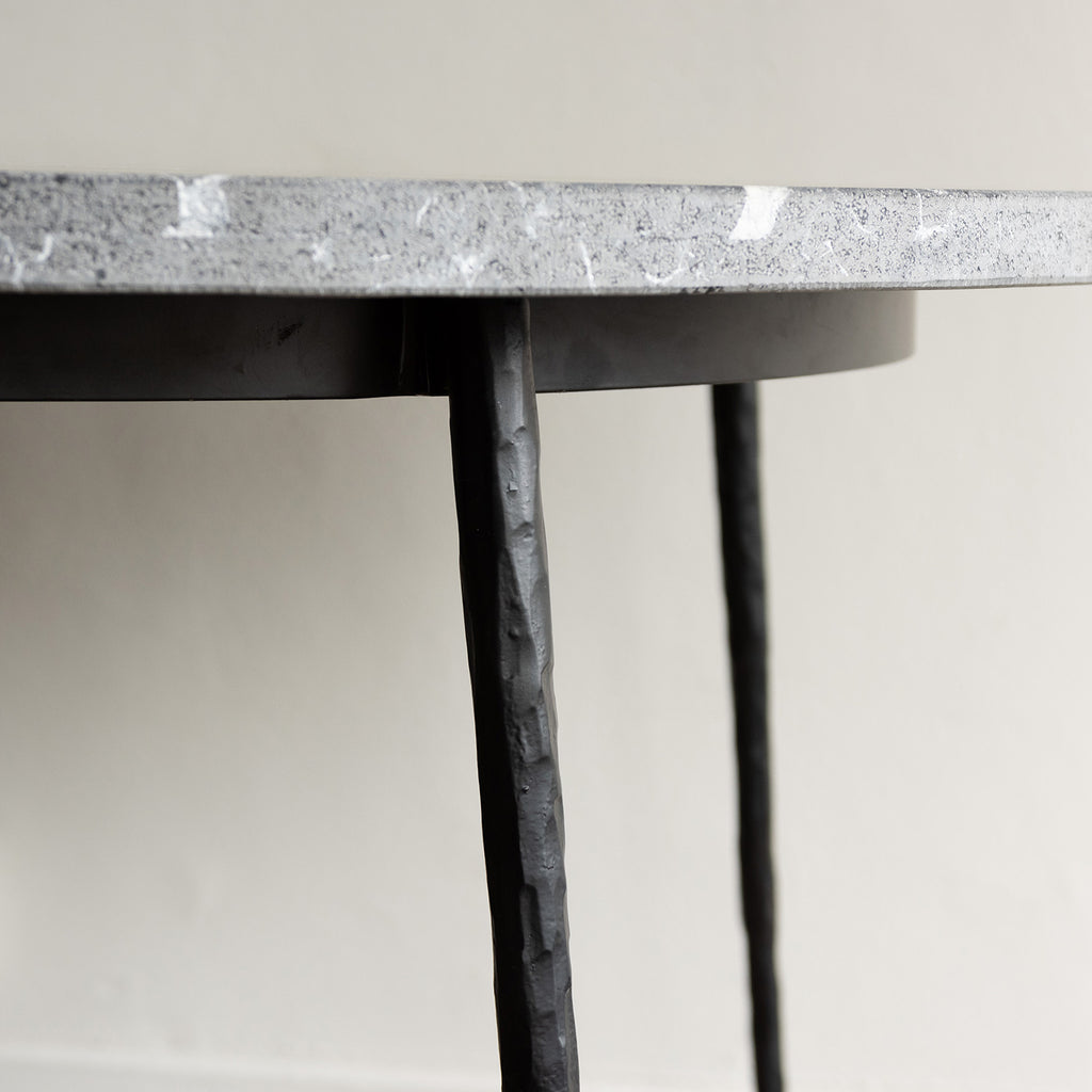 Mobital Kall Low Table - Black Marble Top