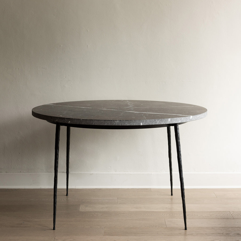 Mobital Kall Dining Table - Black Marble Top