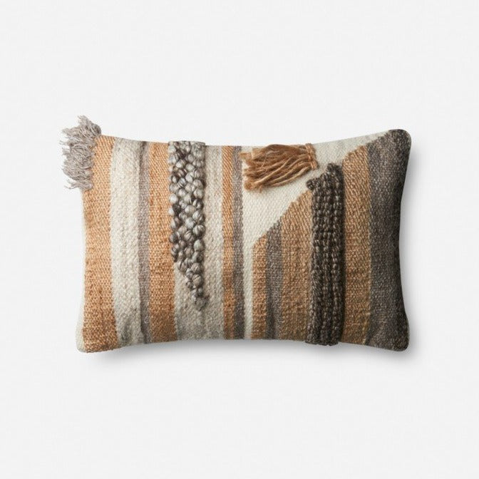 Beige/Multi Pillow - Lumbar