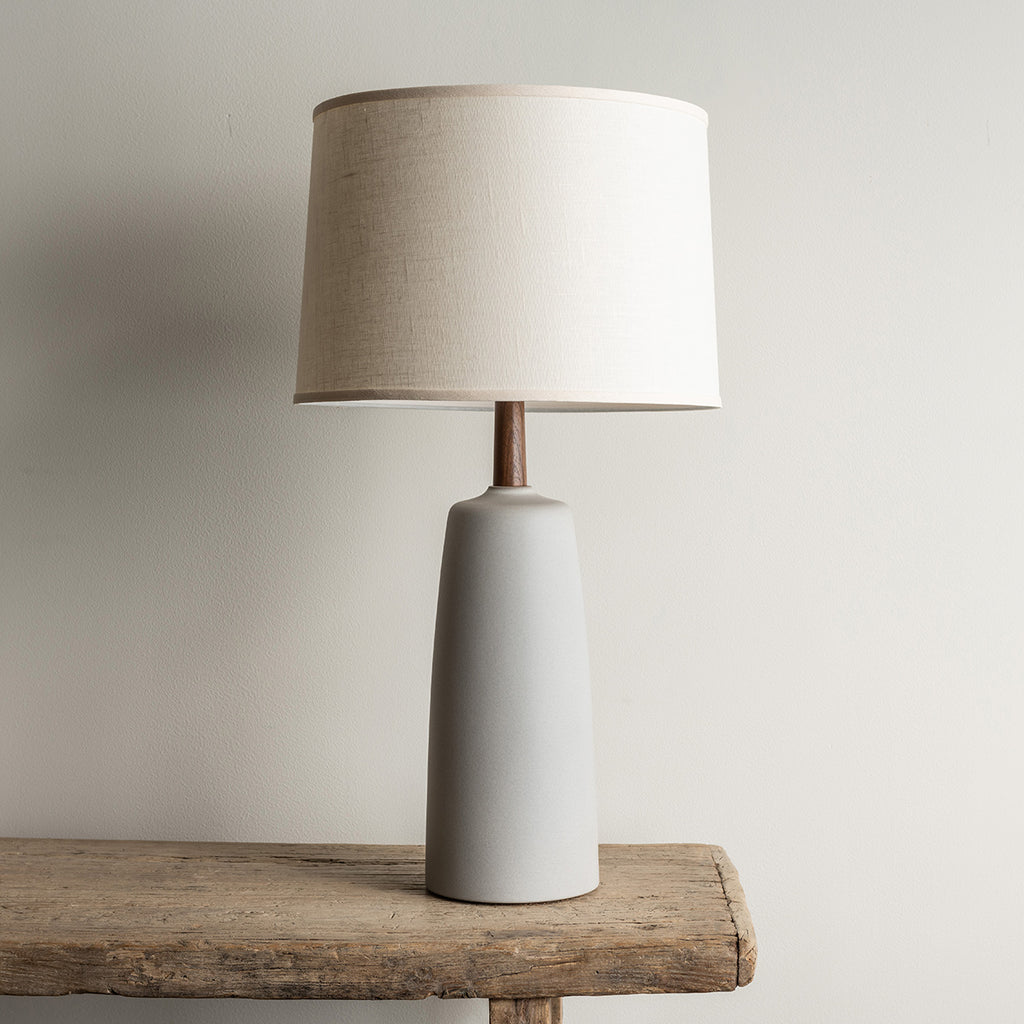 Stone and Sawyer Tor Lamp - Fossil Gray