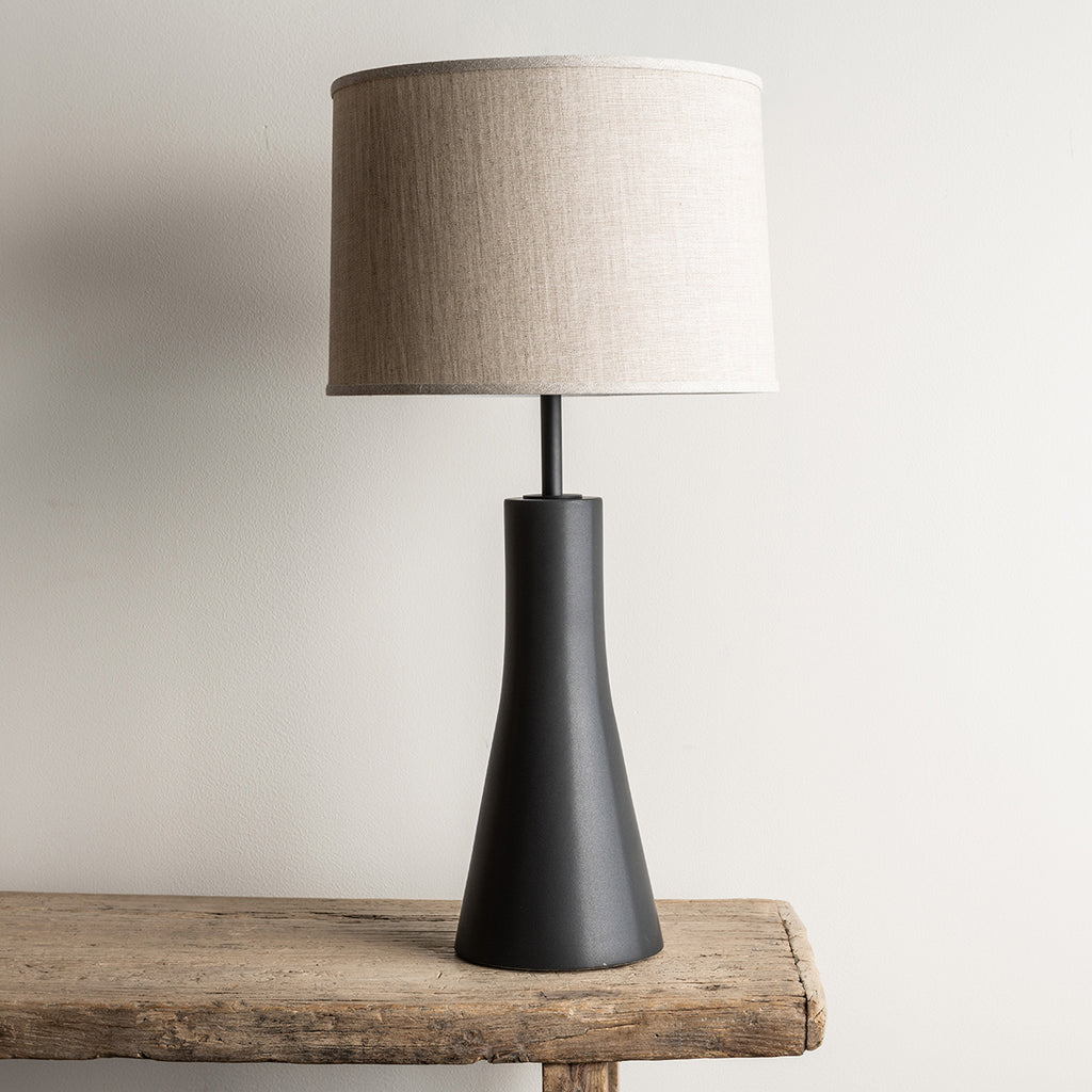 Stone and Sawyer Bauer Lamp - Obsidian