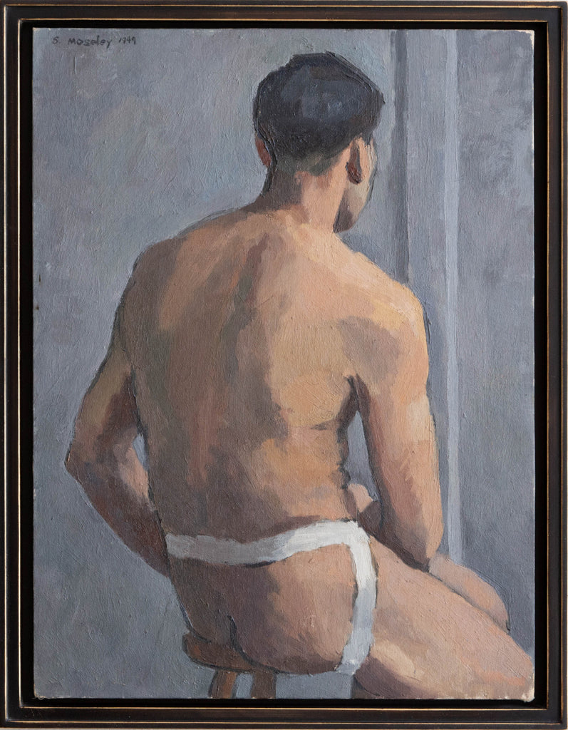 "Spencer Mosley ""Male Portrait"" - C. 1949"
