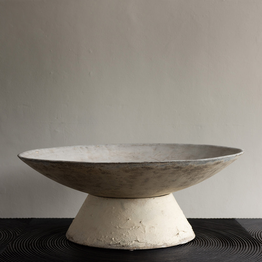 Willy Guhl Mid Century Saucer Planter and Stand