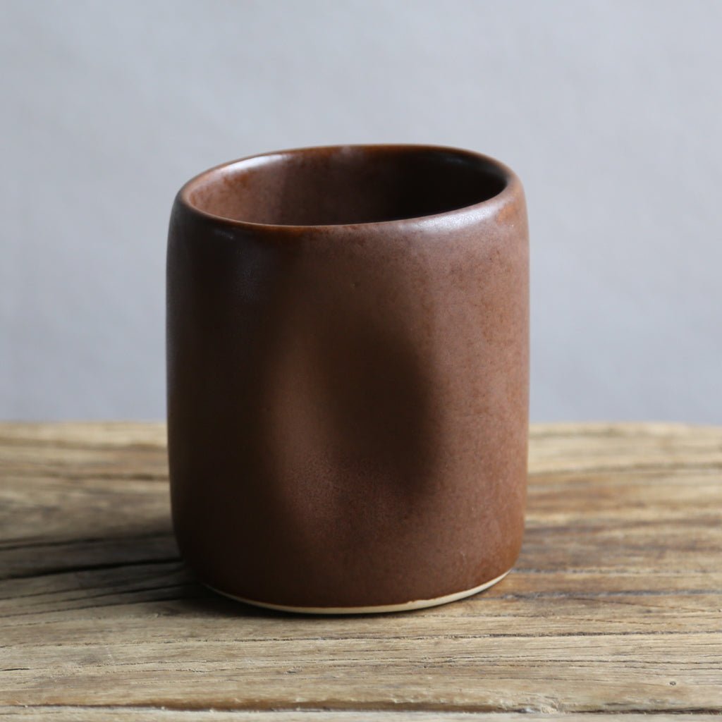 Alex Marshall Small Tumbler - Coffee