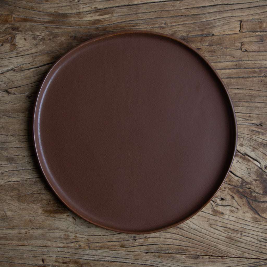 "Alex Marshall 13"" Round Charger Urban - Coffee"