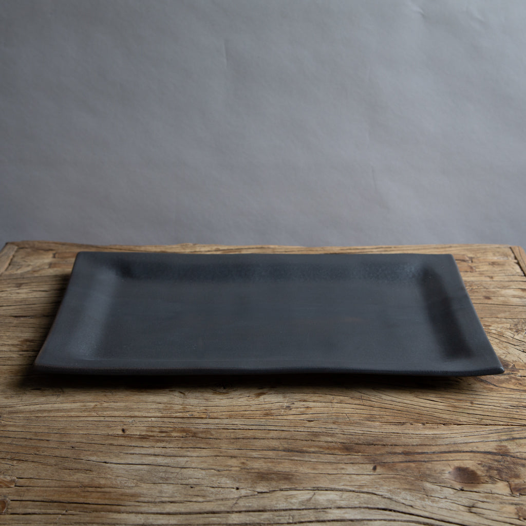 Alex Marshall Large Rectangle Platter - Charcoal