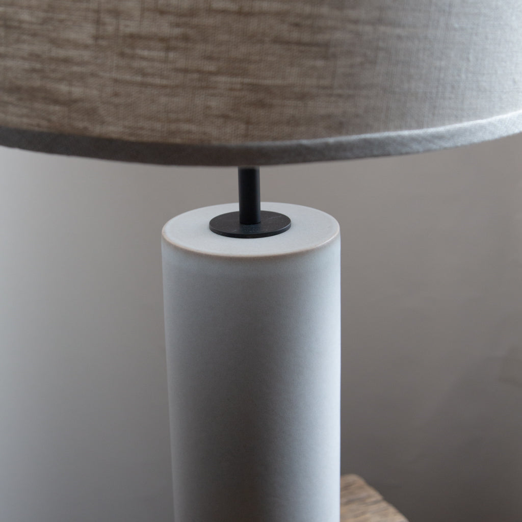 Stone and Sawyer Hancock Lamp in Fossil