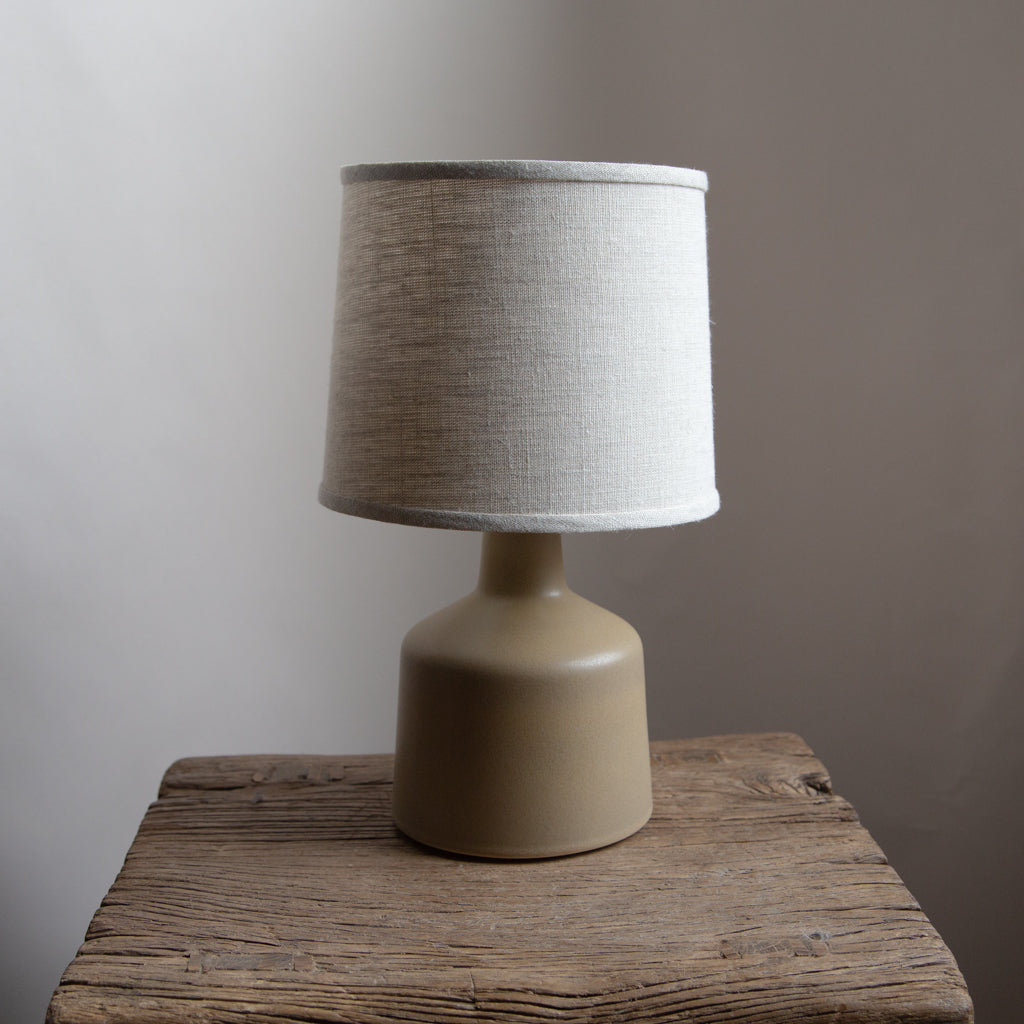 Stone and Sawyer Martin Lamp - Satin Brass