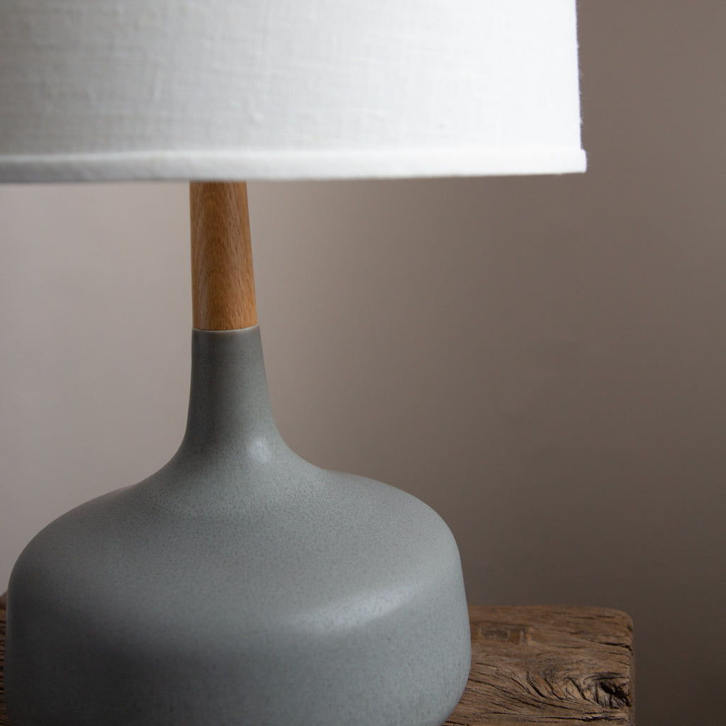 Stone and Sawyer Hilo Lamp in Ash