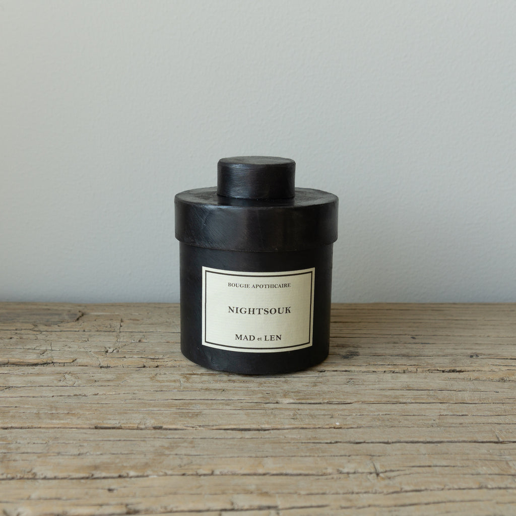 Mad et Len Small Apothicaire Candle - Night Souk
