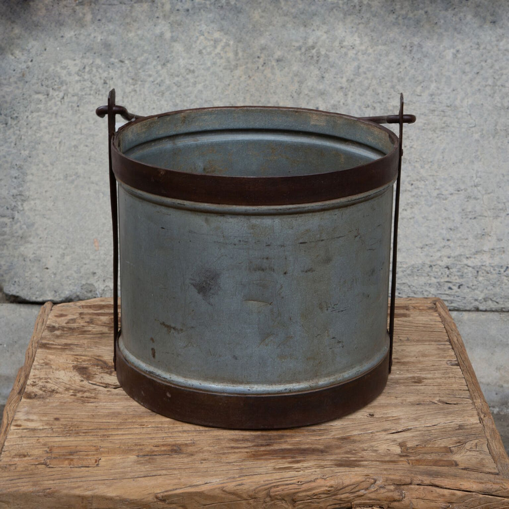 Vintage US Metal Bin, Large
