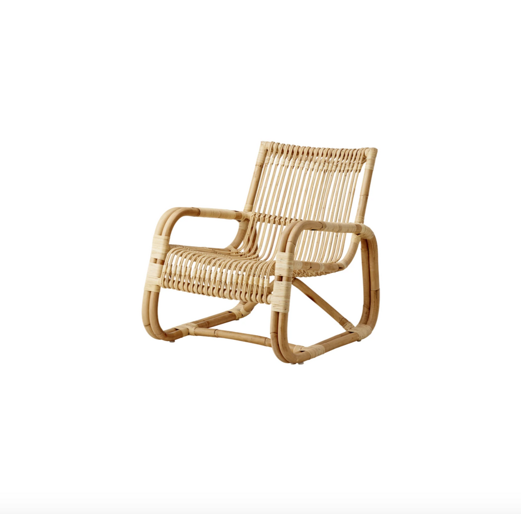 Rattan Curve Lounge Chair