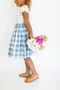 """ Michelle "" Gingham Skirt"