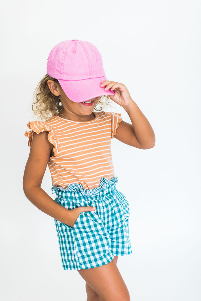 """Selma"" Gingham Shorts"