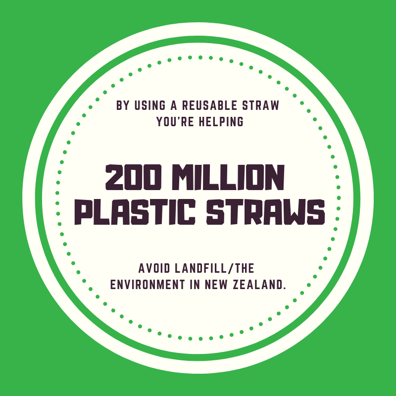 Reusable Fold-Up Drinking Straw