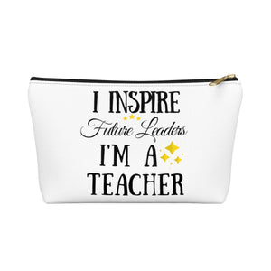 I Inspire Future Leaders Pouch w T-bottom
