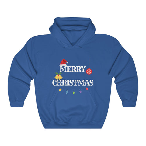 Merry Christmas/Believe Hooded Sweatshirt