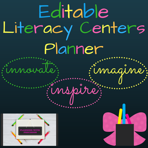Literacy Centers Planner
