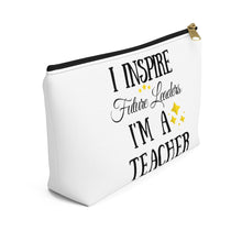 Load image into Gallery viewer, I Inspire Future Leaders Pouch w T-bottom