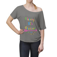 Load image into Gallery viewer, Planning With Precision Logo Women's Slouchy top