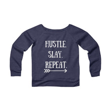 Load image into Gallery viewer, Hustle. Slay. Repeat. Women's Sweatshirt