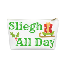 Load image into Gallery viewer, Sleigh All Day Pouch w T-bottom