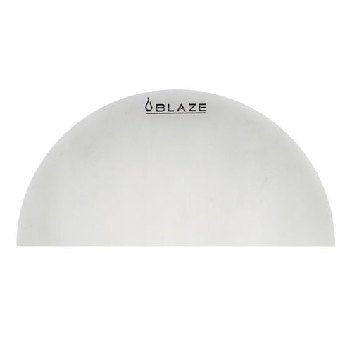 Blaze Kamado Half Round Heat Deflection Plate