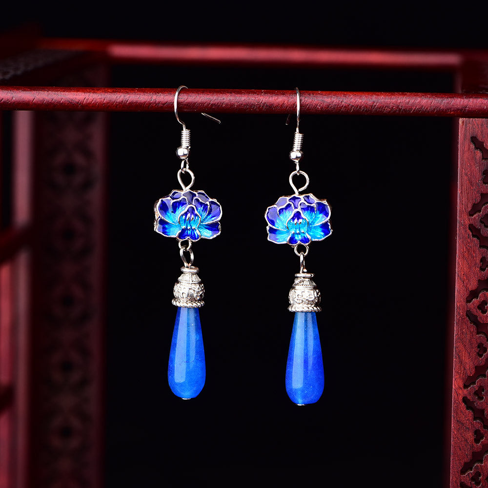 Blue Beautiful Earrings