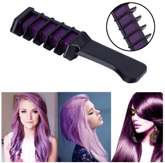 Magic Temporary Hair Color Dye Comb
