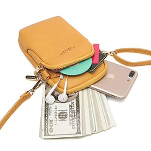 Women Cellphone Bags Sling Pocket With Adjustable Strap