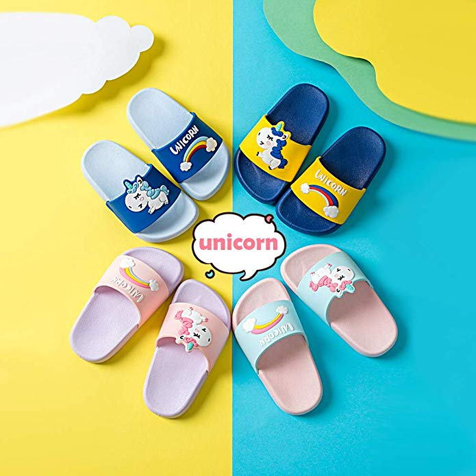 Kids Unicorn Non-Slip Summer Slippers