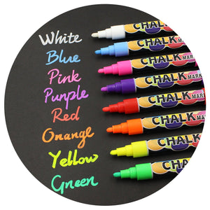 Chalk Markers 8 Color