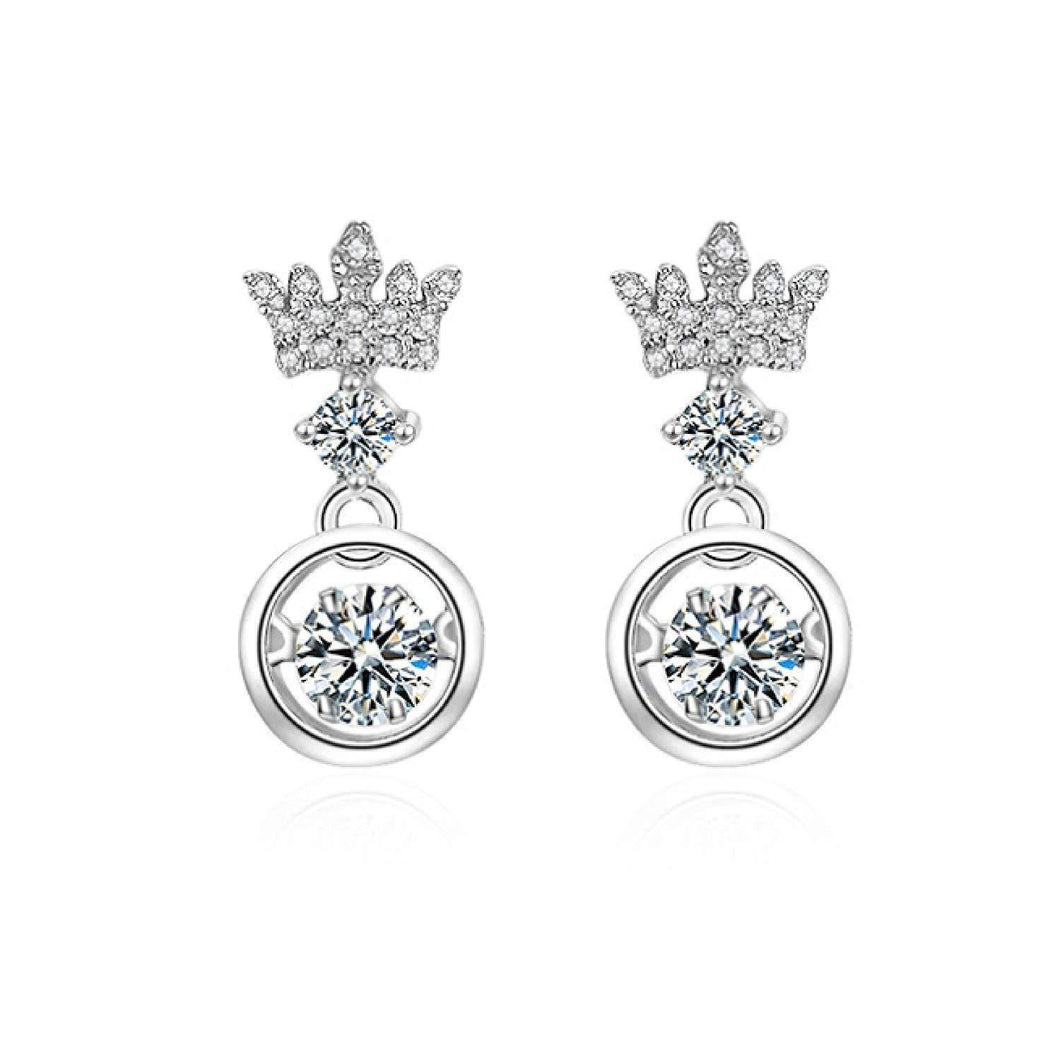 Dancing Crown Earrings