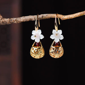 Gold Color  Drop Earrings