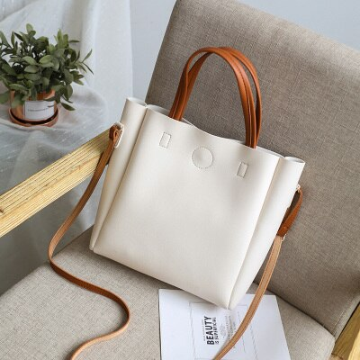 Casual PU Leather Shoulder Bag