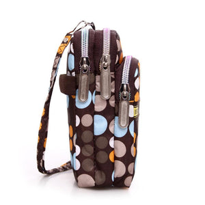Mini Zipper Shoulder Bag